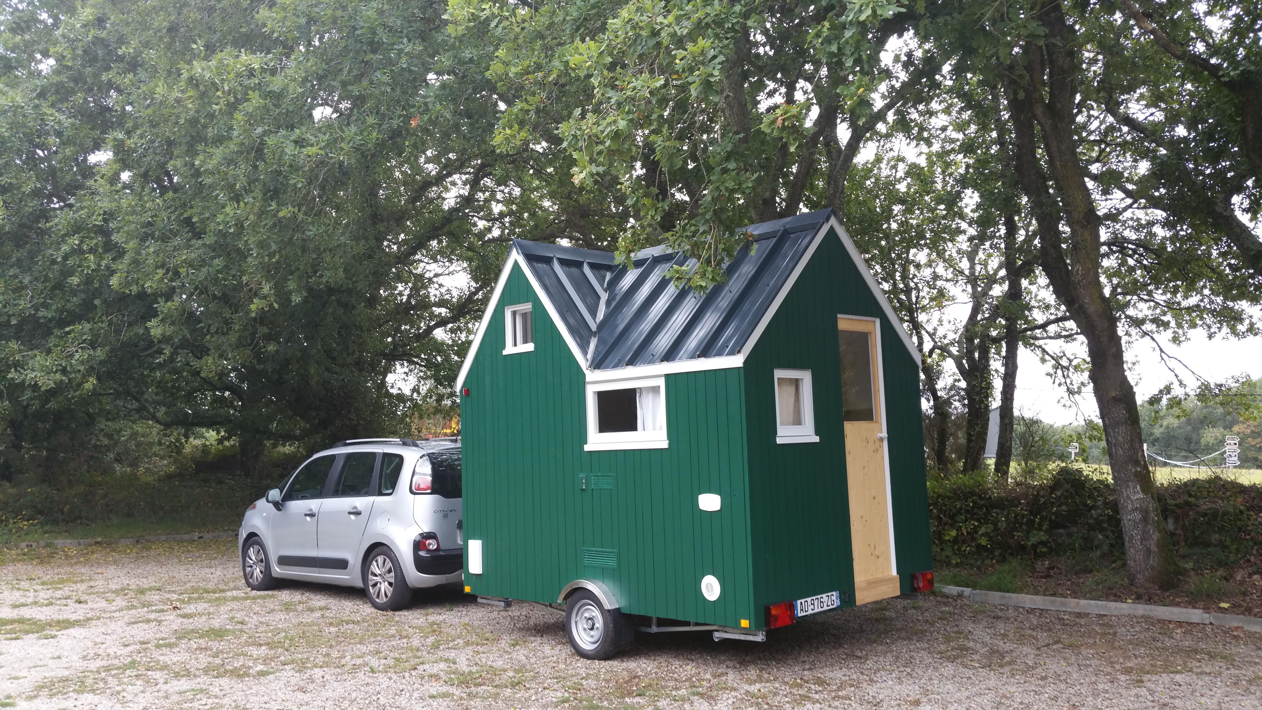 Achat Remorque Tiny House une tiny house aussi facile à tracter qu'une caravane ! | ma