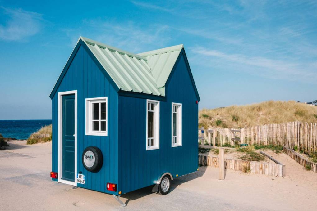 petites soeurs des tiny houses d couvrez les cahutes ma tiny house. Black Bedroom Furniture Sets. Home Design Ideas