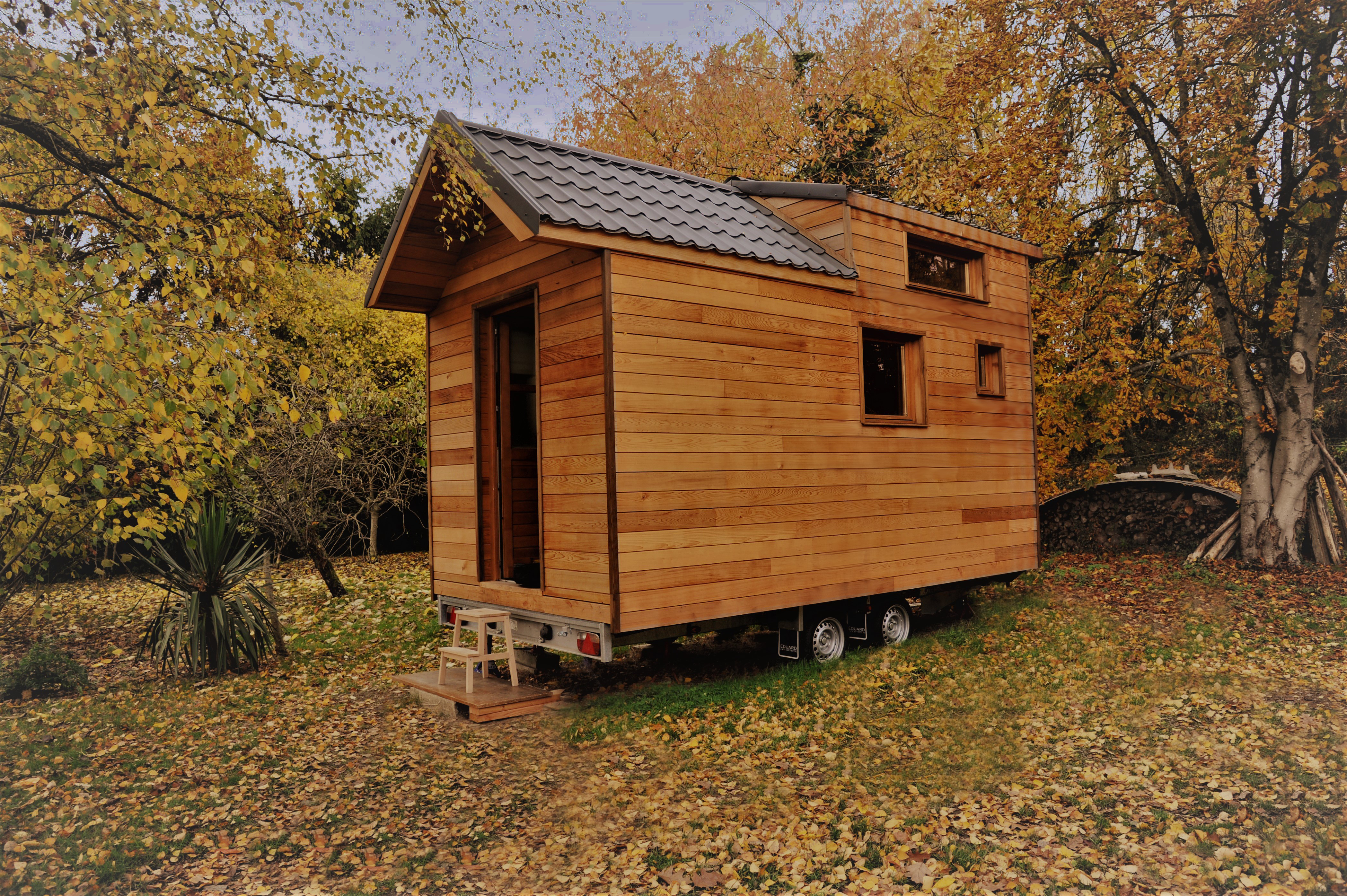 une tiny house rennaise qui fait r ver ma tiny house. Black Bedroom Furniture Sets. Home Design Ideas