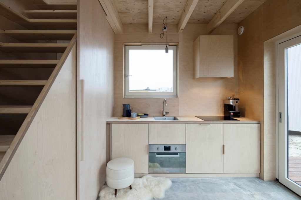 Tiny House verticale- RDC